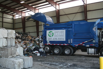 Shipyard Waste Solutions Delivering Municipal Solid Waste