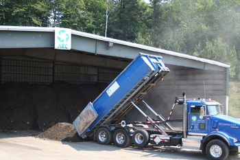 Offloading Soil to Process for Recycling